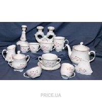 Фото Cmielow Набор чайных чашек низких без блюдец Rococo 9704 240 мл