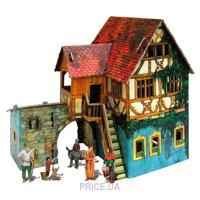 Фото Умная бумага Средневековый город Дом с кораблем (284)