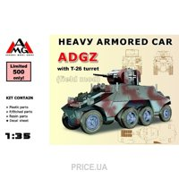 Фото AMG Models Бронеавтомобиль ADGZ с башней Т-26 (AMG35506)