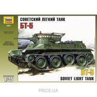Фото ZVEZDA Советский легкий танк БТ-5 (ZVE3507)