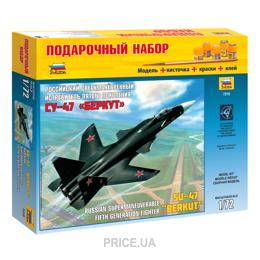 Фото ZVEZDA Российский сверхманевренный истребитель пятого (подарочный набор) (ZVE7215PN)