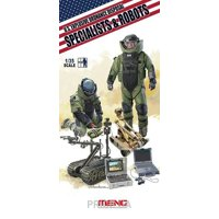 Фото Meng Model Американские минеры и роботы, обезвреживающие боеприпасы (MENG-HS003)