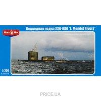 "Фото Micro-Mir Атомная подводная лодка США SSN-686 ""Mendel Rivers"" (MM350-015)"