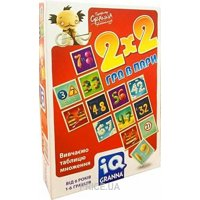 Фото Granna IQ 2х2 Игра в пары (81497)