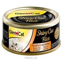 Фото Gimpet ShinyCat тунец с тыквой 70 г