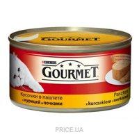 Фото Gourmet Консервы с курицей и почками 0,195 кг
