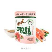 Фото OptiMeal С лососем и креветками 85 гр