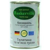 Фото Baskerville Консервы с телятиной и гусем 800 г