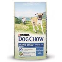 Фото Dog Chow Adult для взрослых собак со вкусом ягненка 14 кг