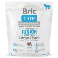 Фото Brit Care Grain-free Adult Salmon & Potato 1 кг