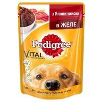 Фото Pedigree Консерва для взрослых собак говядина в желе 100 г