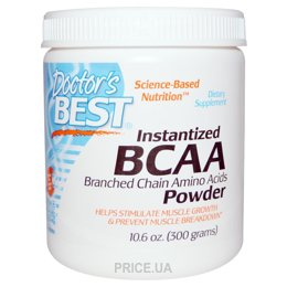 Фото Doctor's Best Instantized BCAA Powder 300g