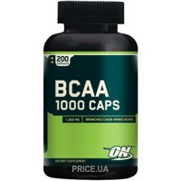 Фото Optimum Nutrition BCAA 1000 Caps 200 caps