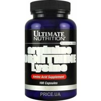 Фото Ultimate Nutrition Arginine Ornithine Lysine 100 caps