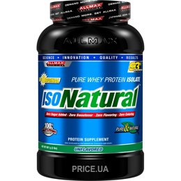 Фото AllMax Nutrition IsoNatural 908 g (30 servings)