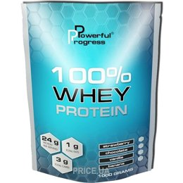 Фото Powerful Progress 100% Whey Protein 1000 g (33 servings)