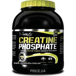 Фото BioTech Creatine Phosphate 300 g (60 servings)