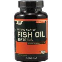Фото Optimum Nutrition Fish Oil Softgels 100 caps