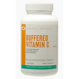 Universal Nutrition Vitamin C Buffered 100 tabs