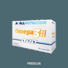 Фото All Nutrition Vit Omega3+D3+K2 30 tabs