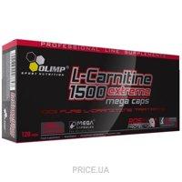 Фото Olimp Labs L-Carnitine 1500 Extreme Mega Caps 120 caps