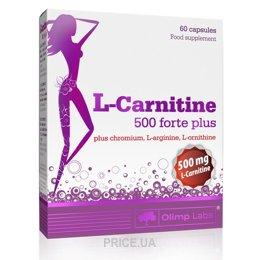 Фото Olimp Labs L-Carnitine 500 Forte Plus 60 caps