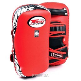 Фото TWINS Deluxe Curved Leather Kick Pads KPL-12