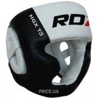 Фото RDX Боксерский шлем с защитой подбородка WB