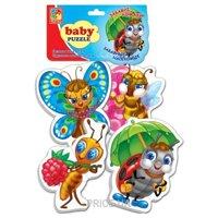 Фото Vladi Toys Беби пазлы Забавные насекомые (VT1106-06)