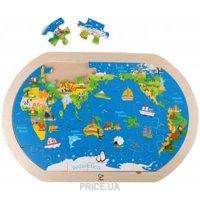 Фото Hape Карта мира (E8311)