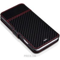 Фото Itskins Angel for iPhone 6 Plus Black/Carbon (AP65-ANGEL-BKCB)