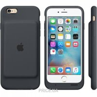 Фото Apple iPhone 6s Smart Battery Case - Charcoal Gray (MGQL2)