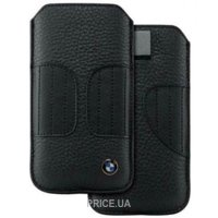 Фото CG Mobile BMW Real Leather Sleeve Kidney Shape for iPhone 5/5s Black (BMPOP5LK)