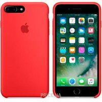 Фото Apple iPhone 7 Plus Silicone Case (PRODUCT)RED (MMQV2)