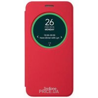 Фото ASUS ZenFone 2 Laser View cover Red (90AC00G0-BCV003)