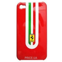Фото Ferrari Stradale Back Cover For iPhone 4 Red (FEST4GRE)