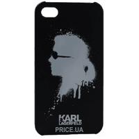 Фото Karl Lagerfeld Graffiti для iPhone 4/4S Black (KLHCP4GBL)