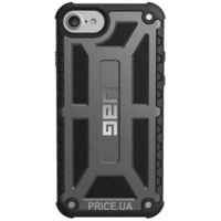Фото Urban Armor Gear iPhone 7/6S Monarch Graphite Black (IPH7/6S-M-GR)