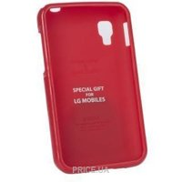 Фото VOIA LG Optimus L4II Dual - Jelly Case (Red)