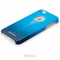 Фото X-Fitted Star Falls with Swarovski для iPhone 5/5S Blue (SZ06L)
