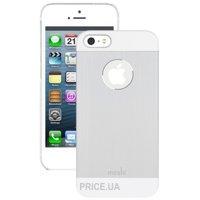 Фото Moshi iGlaze Armour Metal Case Silver for iPhone 5/5S (99MO061201)