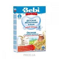 Фото Bebi Premium Каша молочная Овсяная с козьим молоком 200 г