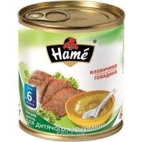 Фото Hame Пюре говядина, с 6 мес. 100 г
