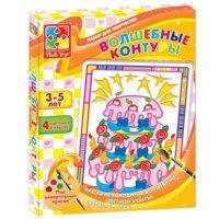 Фото Vladi Toys Волшебные контуры Тортик (VT2601-04)