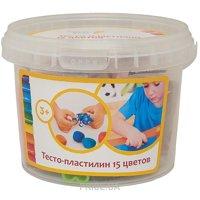 Фото Genio Kids Набор для детской лепки Тесто-пластилин 15 цветов (TA1066)