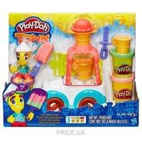 Фото Hasbro Play-Doh Город: грузовик мороженого (B3417)