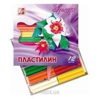 Фото Луч Восковой пластилин Премиум 12 цветов (18С1223-08)