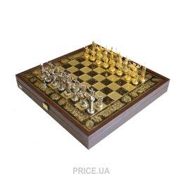 Фото Manopoulos Шахматы Троянская война в деревянном футляре (коричневые) (SK4BRO)