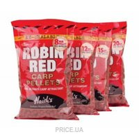 Фото Dynamite Baits Пеллетс Robin Red Pre-Drilled 6mm 900g (DY081)