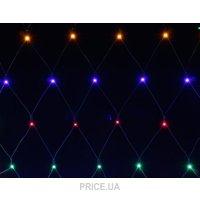 Фото Феерия Гирлянда-штора внешняя LED 240 ламп 3 м разноцветная (QC2032)
